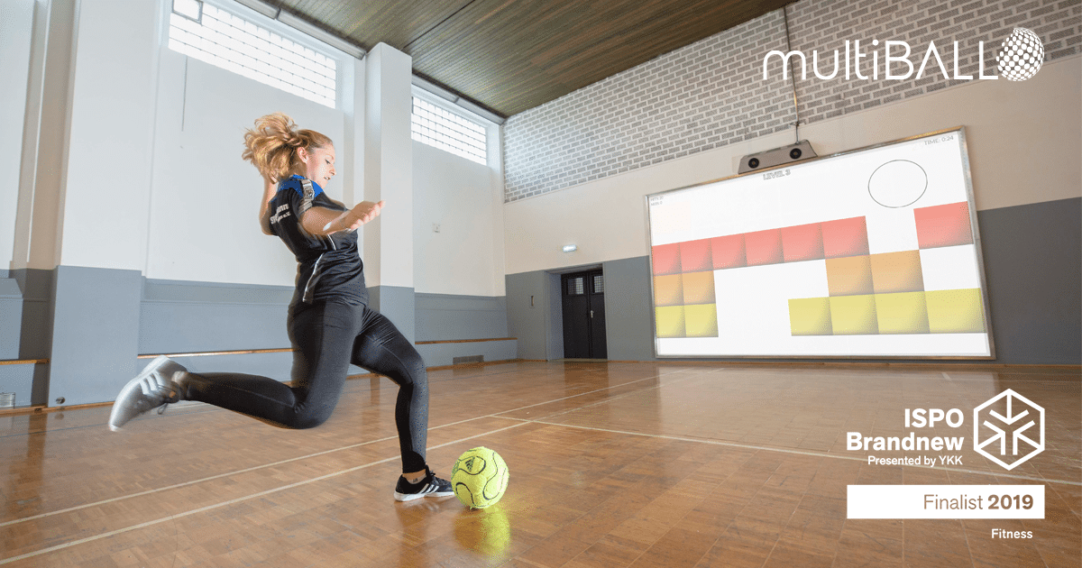 ISPO 2019 multiball is among the finalist of Brandnew Award in Fitness
